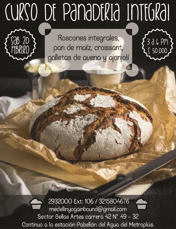 Curso de panader a integral govindas restaurante - Clases de cocina medellin ...