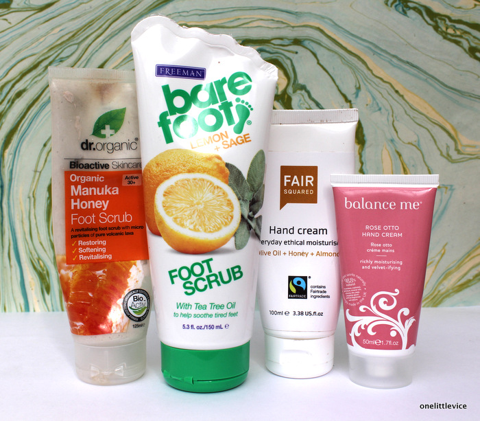 One Little Vice UK Beauty Blog: Dr Organic, BareFoot, FairSquared, Balance Me