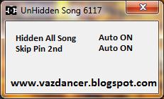 Cheat AyoDance Hidden Song V6117 By HikaraHikaru