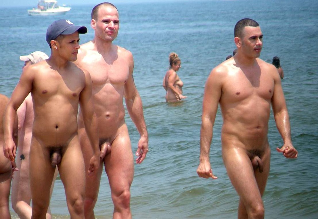 Mature man gay nude beach