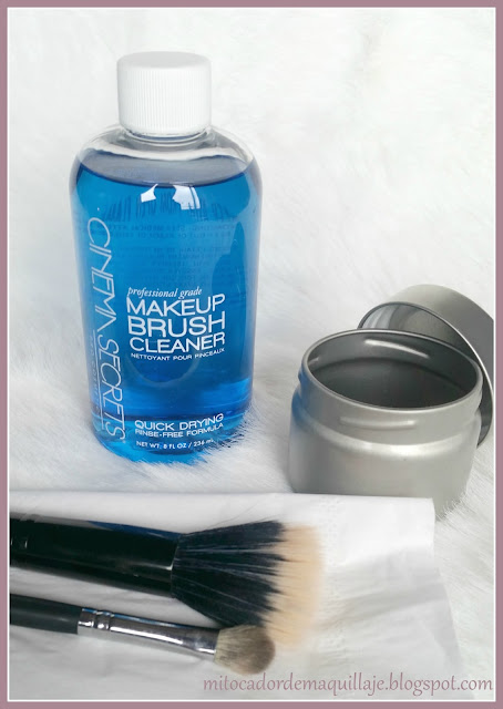 Reseña - Makeup Brush Cleaner de Cinema Secrets