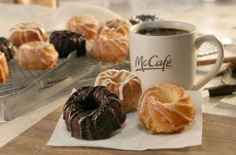 News McDonalds Testing Mini Bundt Cakes to Go with Coffee Brand