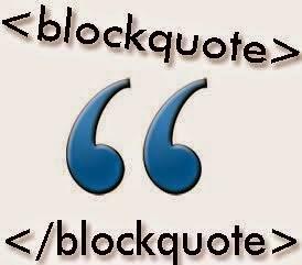 Tùy chỉnh Blockquote trong Blogger (blogspot)
