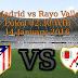 Atl. Madrid vs Rayo Vallecano 15-January-2016