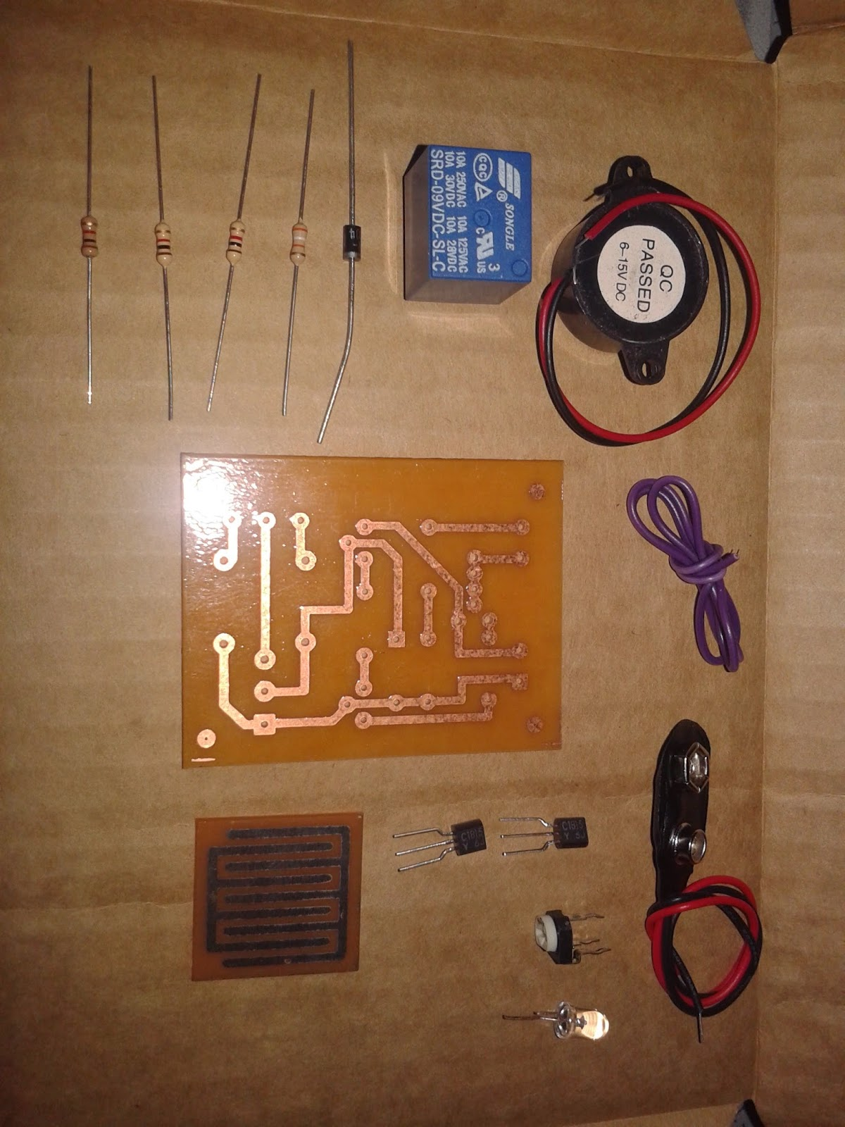9M2AIM: Electronic Kit for my class project - ITT590(Computer System ...