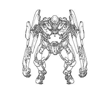 #9 Pacific Rim Coloring Page
