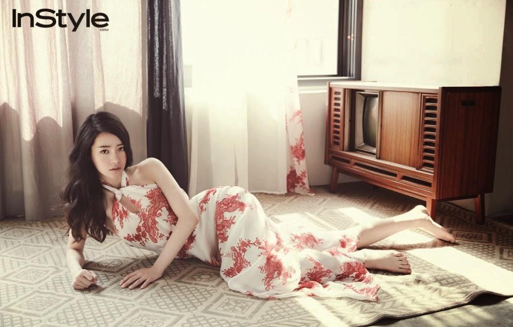 Im Ji Yeon - InStyle June 2014