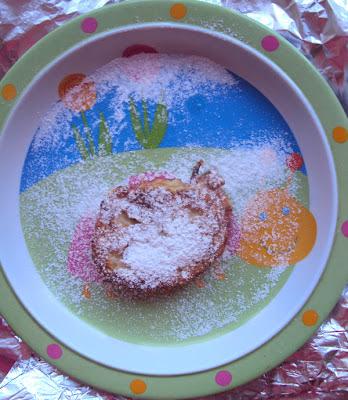 Placuszki z cukinii na ostro i z cukrem pudrem