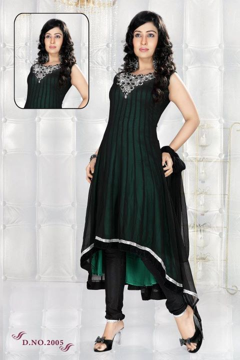 Anarkali Frock Collection 2011 Anarkali Umbrella Frocks 2011 Best
