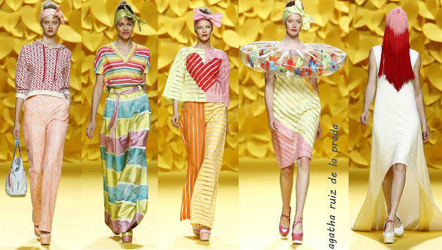 Agatha Ruiz de la Prada mercedes benz fashion week madrid