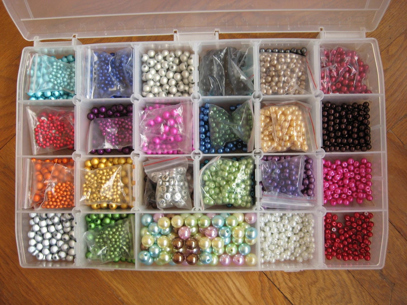 boîte rangement perles