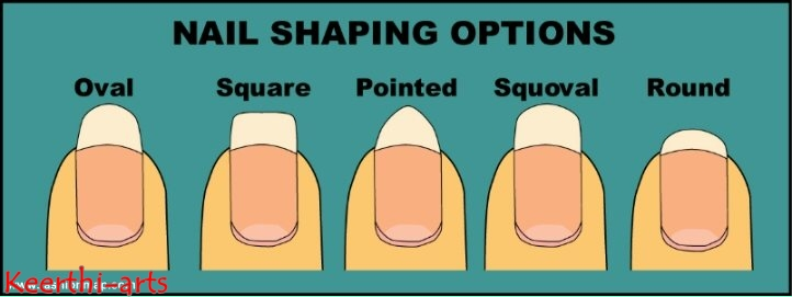 Whch Nail Shape Suits You Based On Finger Length And Size