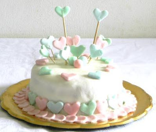 cake sugar paste