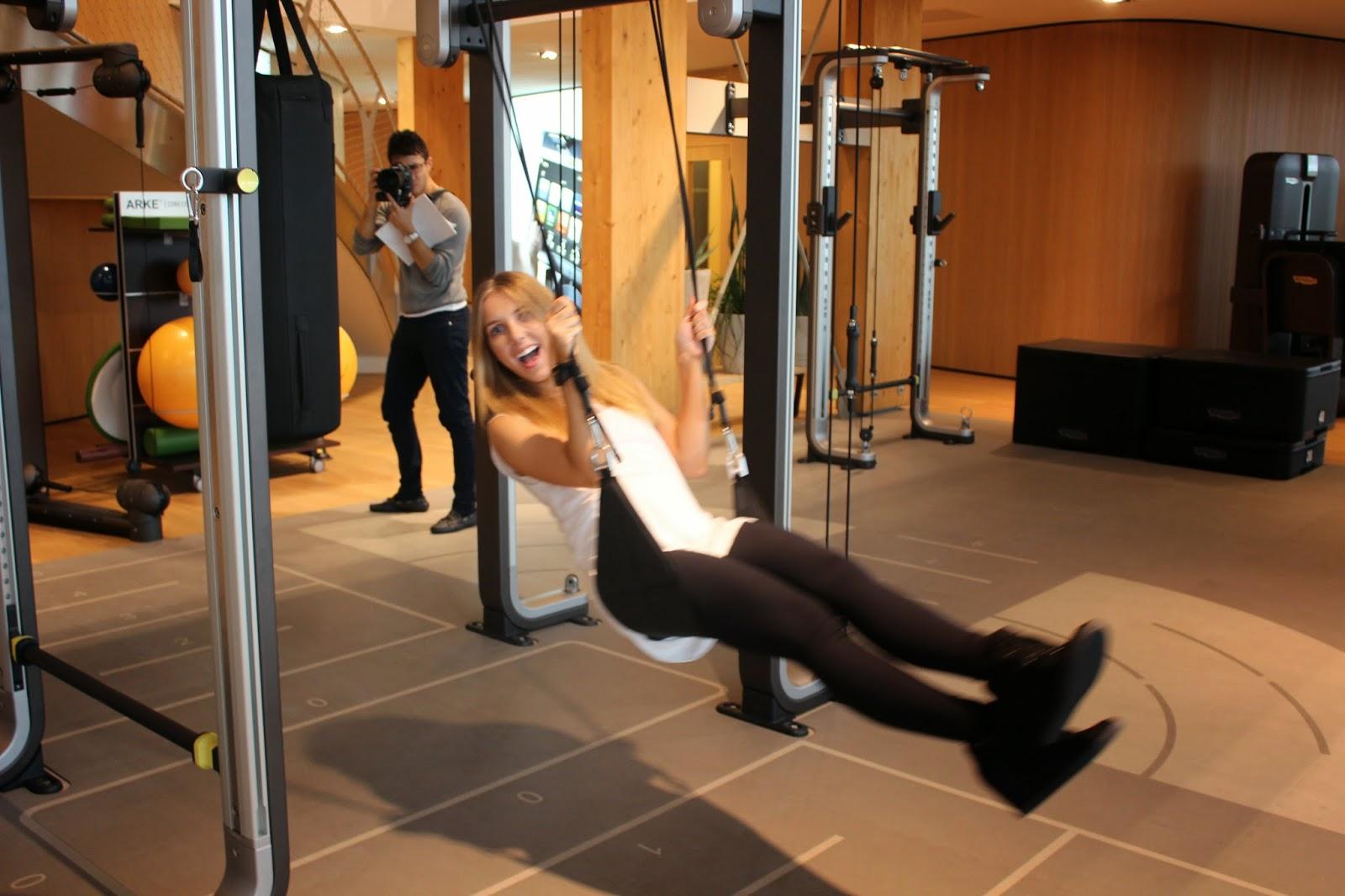 Technogym Wellness Village Gym Showroom Natalie Omnia