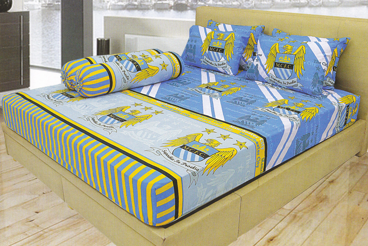 Sprei Lady Rose Menchester City