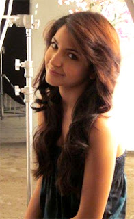 Anushka Sharma with beautiful Hair