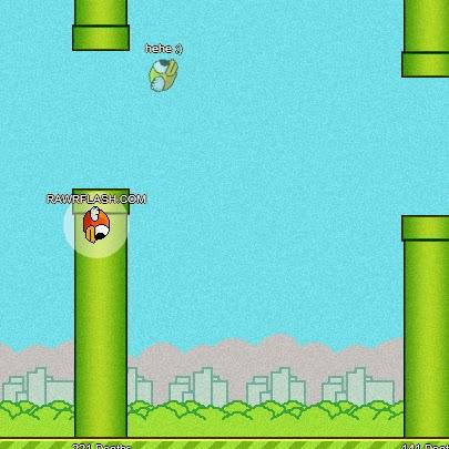 Jogar FlapMMO - Flappy Bird online
