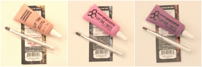 OCC lip tars with brushes