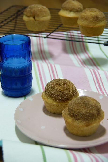 Muffins De Canela Rellenos De Nutella