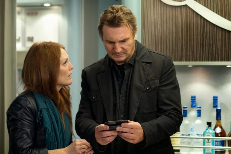 Julianne Moore y Liam Neeson