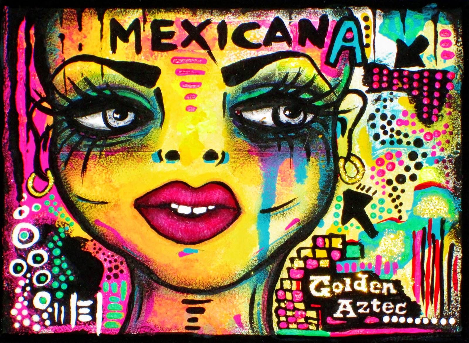 Mexicana - Art by Bebee Pino