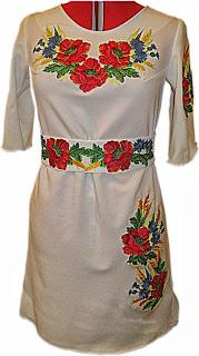 Вишите плаття жіноче вишиване плаття