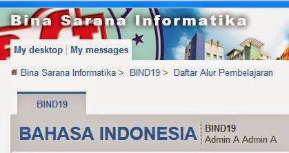 Kunci Jawaban Kuis Pra UTS Elearning BSI Bahasa Indonesia