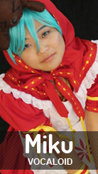 Cosplay Hatsune Miku de Vocaloid por Kei-chan
