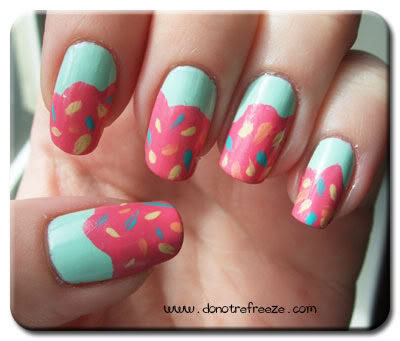 cupcake nail art-11