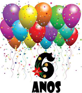 06 anos na web!! Obrigada aos seguidores do Blog e a todas as pessoas que prestigiam essa página.