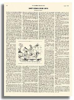 Primera obra publicada de Roald Dahl