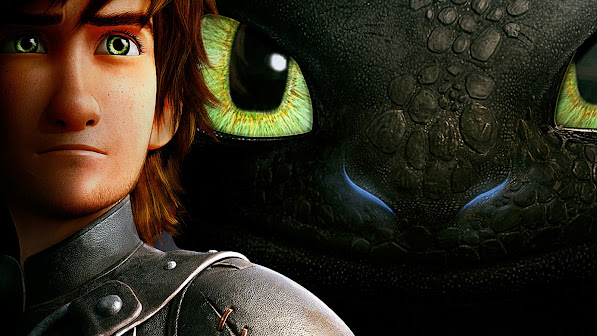 Hiccup and Toothless 0s