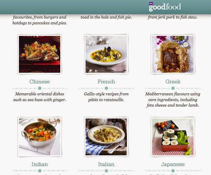 BBC Good Food: Cuisines