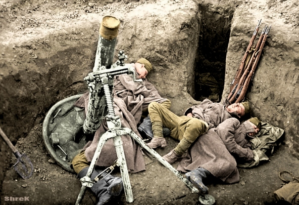 Foto perang dunia ii berwarna