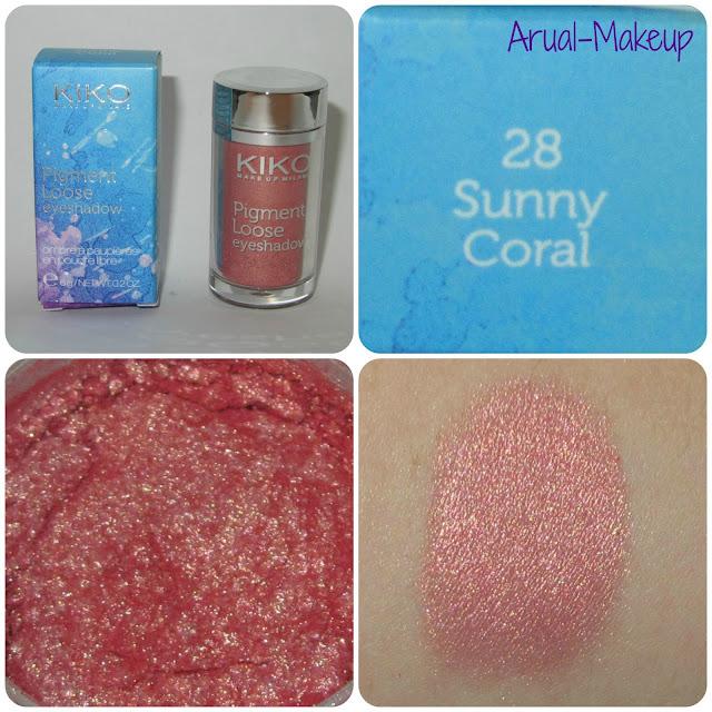 Colour in the World Pigmento 28 Sunny Coral Kiko