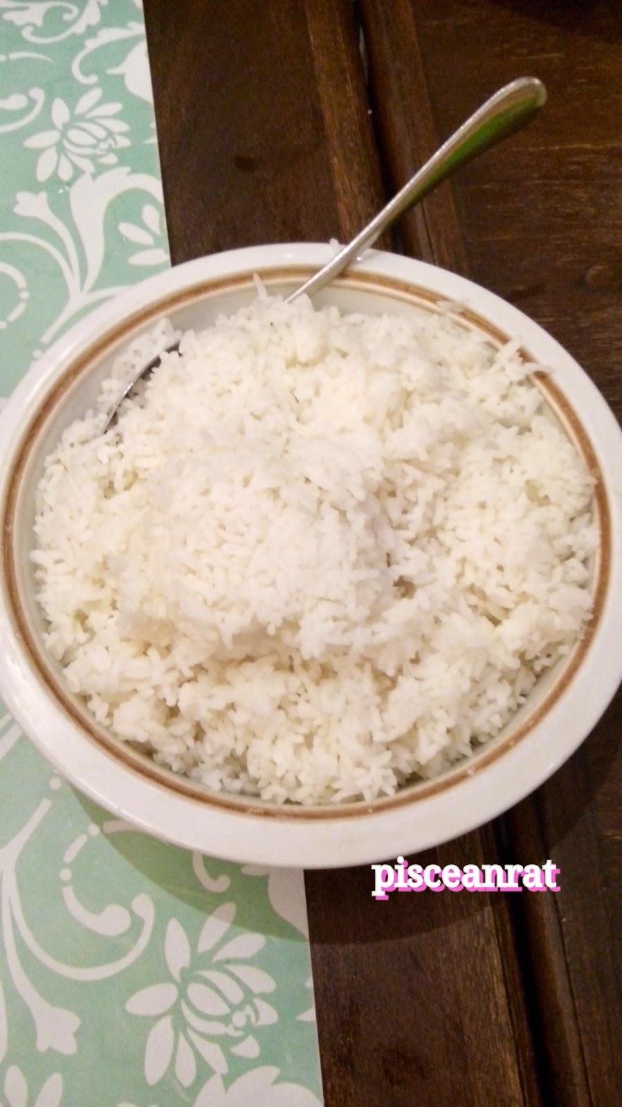 white rice, rice, pinac,