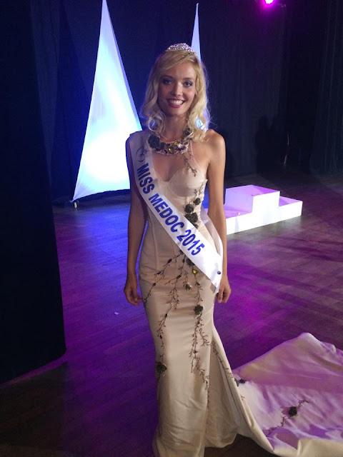 miss aquitaine 2015 robe gala