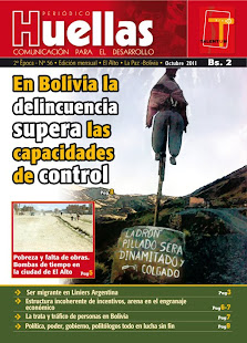 Huellas Bolivia, octubre de 2011: