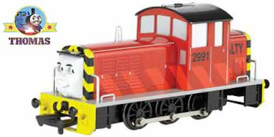 Toy electric Thomas the train Bachman HO gauge Salty the dockyard diesel railway scale model engines