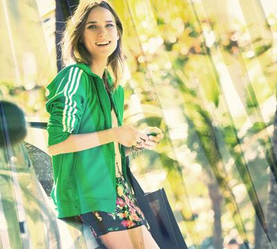 jaquetas firebird femininas Adidas Originals e Farm