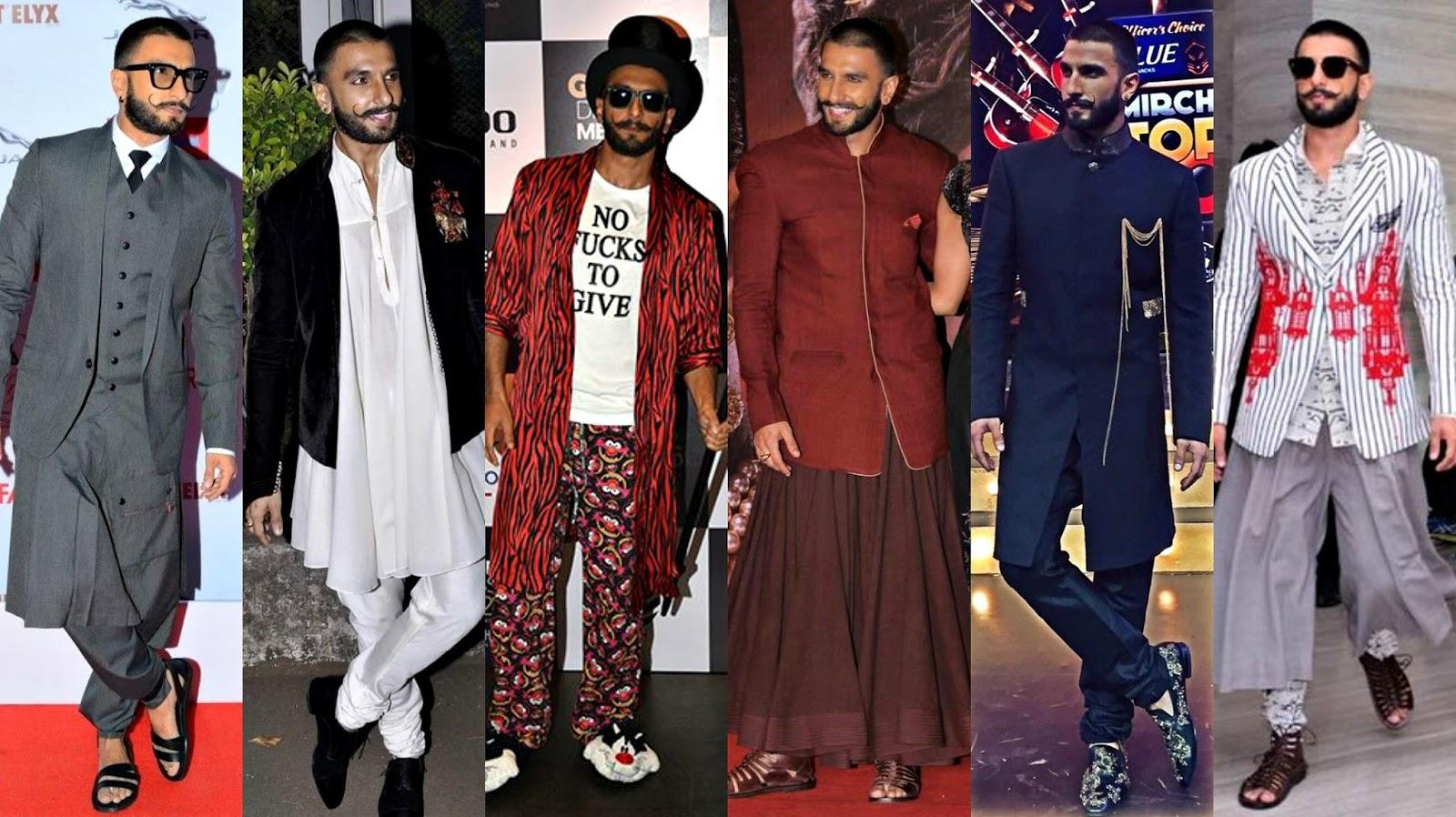 Ranveer Singh's Dressing Styles – 30 Latest Looks of Ranveer