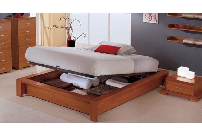 C mo ganar espacio en un dormitorio peque o dormitorios for Camas con cajones debajo