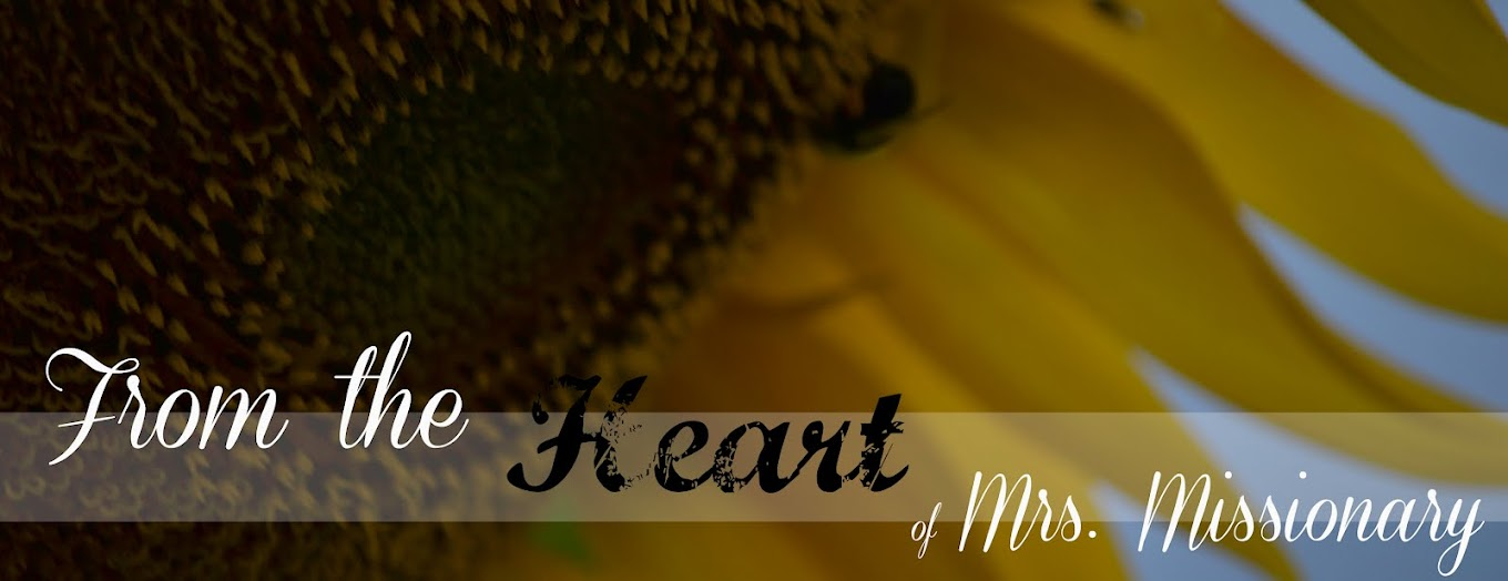 From the Heart of Mrs. Missionary