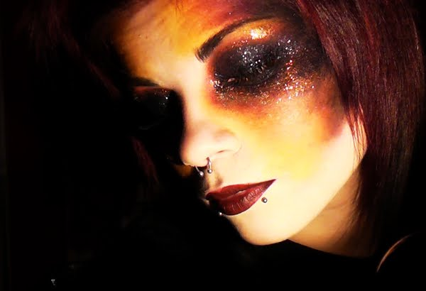 Makeup Ideas fire makeup : Make-up by Bextacy!: FIRE Element Inspired Make-Up Look