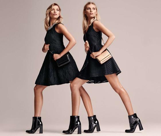 vestidos negros H&M
