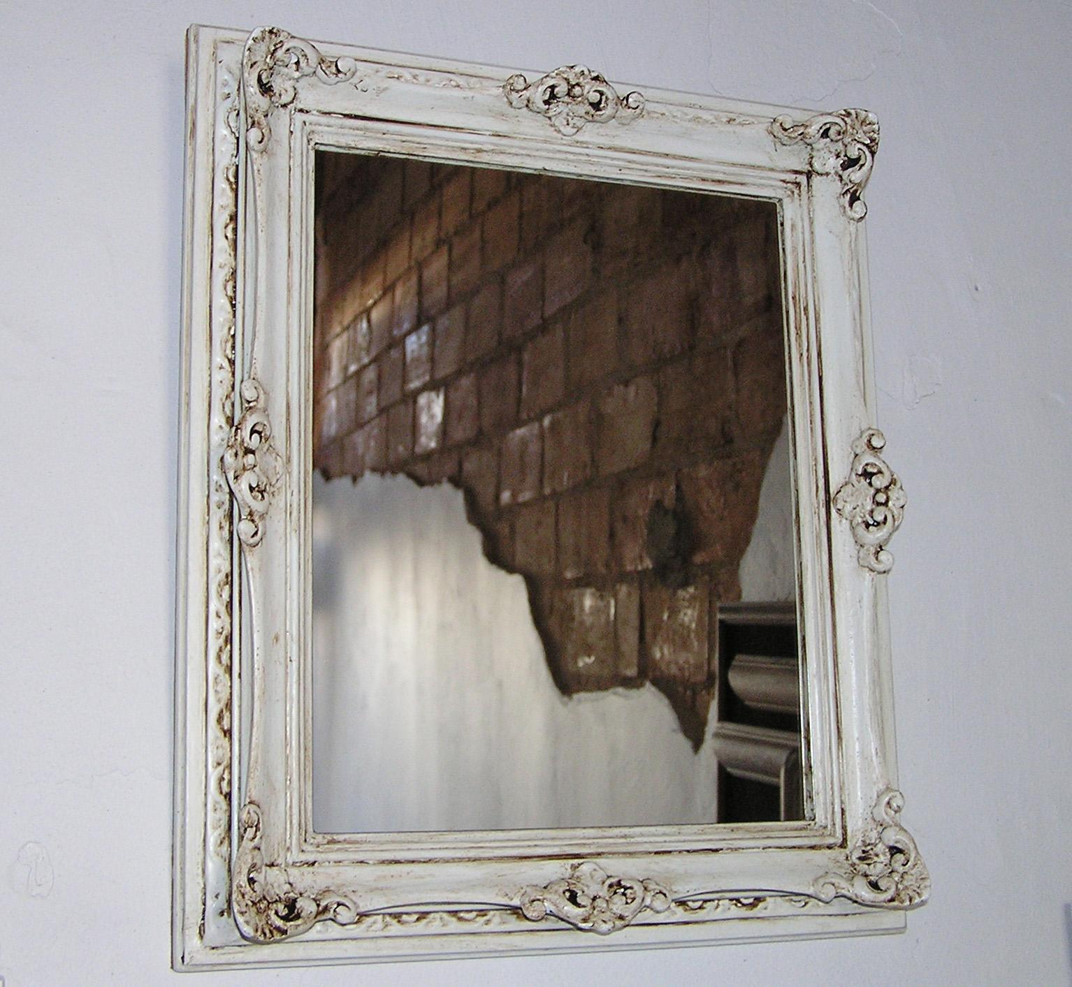 Pin antiguo espejo de camerino con 4 luces mueble 56 x 88 - Espejos de camerino ...