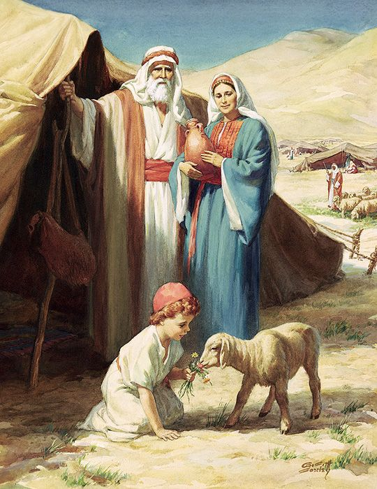 Abraham was 86 years old when Hagar bore him a son