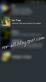 Koi Free Live Wallpaper - rev-all.blogspot.com