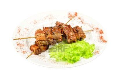 ตับย่าง_Grilled Liver_焼きレバー