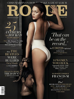 KC Concepcion Rogue Magazine cover